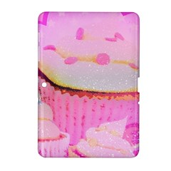 Cupcakes Covered In Sparkly Sugar Samsung Galaxy Tab 2 (10.1 ) P5100 Hardshell Case
