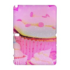 Cupcakes Covered In Sparkly Sugar Samsung Galaxy Note 10.1 (P600) Hardshell Case