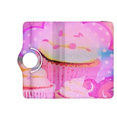 Cupcakes Covered In Sparkly Sugar Kindle Fire HDX 8.9  Flip 360 Case
