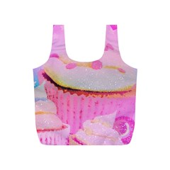Cupcakes Covered In Sparkly Sugar Reusable Bag (s)