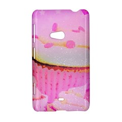 Cupcakes Covered In Sparkly Sugar Nokia Lumia 625 Hardshell Case