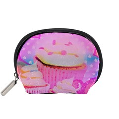 Cupcakes Covered In Sparkly Sugar Accessories Pouch (Small)