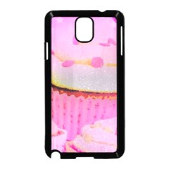 Cupcakes Covered In Sparkly Sugar Samsung Galaxy Note 3 Neo Hardshell Case (black)