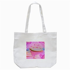 Cupcakes Covered In Sparkly Sugar Tote Bag (White)