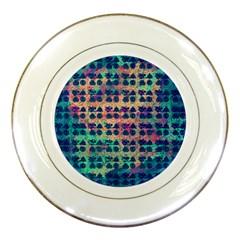 Led Zeppelin Symbols Porcelain Display Plate