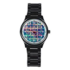 Led Zeppelin Symbols Sport Metal Watch (Black)