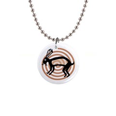 Mimbres Rabbit Button Necklace