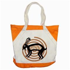 Mimbres Rabbit Accent Tote Bag