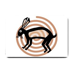 Mimbres Rabbit Small Door Mat