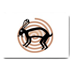 Mimbres Rabbit Large Door Mat
