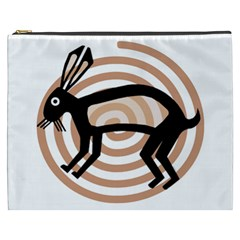 Mimbres Rabbit Cosmetic Bag (XXXL)