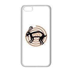 Mimbres Rabbit Apple iPhone 5C Seamless Case (White)