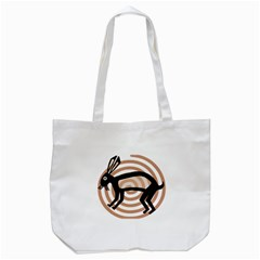 Mimbres Rabbit Tote Bag (White)