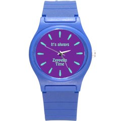 Always Time For Zeppelin Plastic Sport Watch (small)