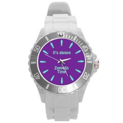 Always Time For Zeppelin Plastic Sport Watch (large)