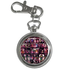 Physical Graffitied Key Chain Watch