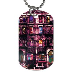 Physical Graffitied Dog Tag (two Sided)