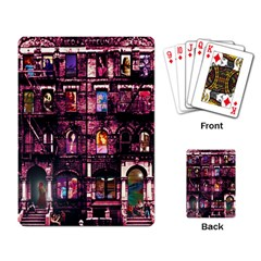 Physical Graffitied Playing Cards Single Design