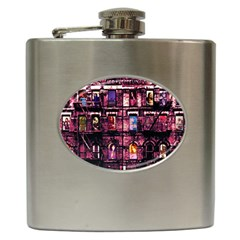 Physical Graffitied Hip Flask