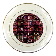 Physical Graffitied Porcelain Display Plate