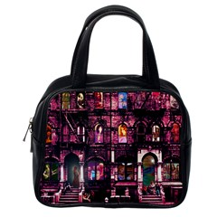 Physical Graffitied Classic Handbag (one Side)