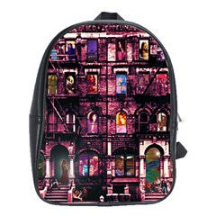 Physical Graffitied School Bag (large)