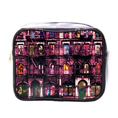 Physical Graffitied Mini Travel Toiletry Bag (one Side)
