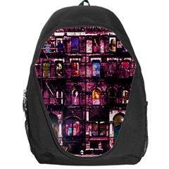 Physical Graffitied Backpack Bag