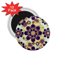 Luxury Decorative Symbols  2 25  Button Magnet (10 Pack)