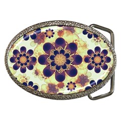 Luxury Decorative Symbols  Belt Buckle (Oval)