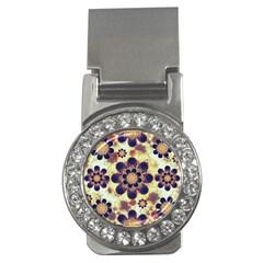 Luxury Decorative Symbols  Money Clip (CZ)