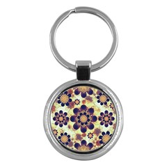 Luxury Decorative Symbols  Key Chain (round)