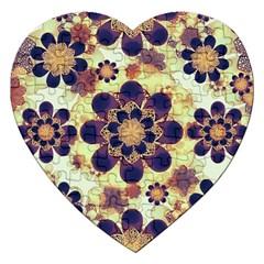 Luxury Decorative Symbols  Jigsaw Puzzle (Heart)