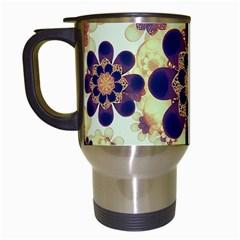 Luxury Decorative Symbols  Travel Mug (White)