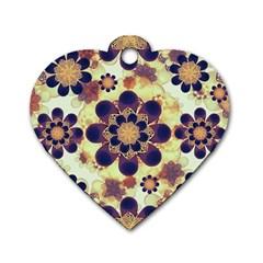 Luxury Decorative Symbols  Dog Tag Heart (One Sided)