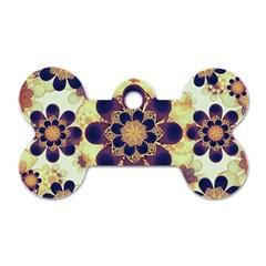 Luxury Decorative Symbols  Dog Tag Bone (two Sided)