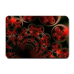 Phenomenon, Orange Gold Cosmic Explosion Small Door Mat