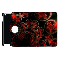 Phenomenon, Orange Gold Cosmic Explosion Apple iPad 3/4 Flip 360 Case
