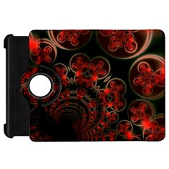 Phenomenon, Orange Gold Cosmic Explosion Kindle Fire HD 7  (1st Gen) Flip 360 Case