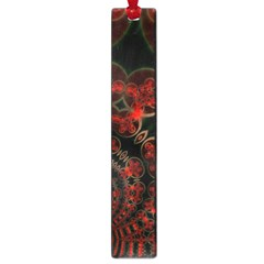 Phenomenon, Orange Gold Cosmic Explosion Large Bookmark