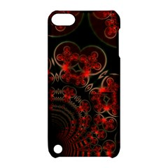 Phenomenon, Orange Gold Cosmic Explosion Apple Ipod Touch 5 Hardshell Case With Stand