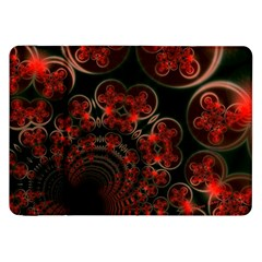 Phenomenon, Orange Gold Cosmic Explosion Samsung Galaxy Tab 8 9  P7300 Flip Case