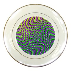 Illusion Delusion Porcelain Display Plate