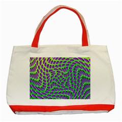 Illusion Delusion Classic Tote Bag (Red)