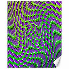 Illusion Delusion Canvas 11  x 14  (Unframed)