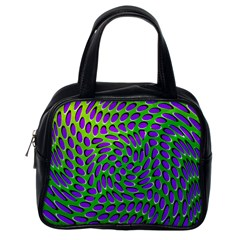 Illusion Delusion Classic Handbag (one Side)