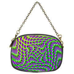 Illusion Delusion Chain Purse (two Sided)