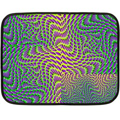 Illusion Delusion Mini Fleece Blanket (two Sided)