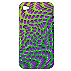 Illusion Delusion Apple Iphone 4/4s Hardshell Case (pc+silicone)