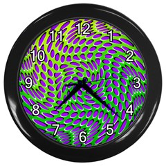 Illusion Delusion Wall Clock (black)